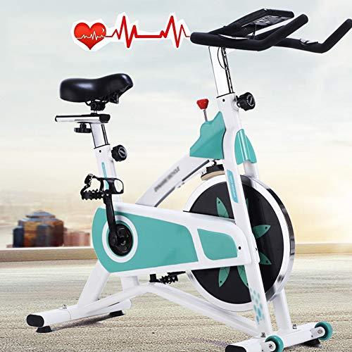 LQ&XL Bicicleta Estática Plegable de Spinning Deportiva