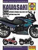 Kawasaki ZX600 (GPZ600R, GPX600R, Ninja 600R and RX) ZX 750 (GPX750R, Ninja 750R) 1985 to 1997 (Haynes Manuals)