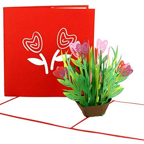 3D Muttertagskarte & Geburtstagskarte
