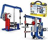 Bricolaje para niños Que ensambla maquinaria de energía de partículas pequeñas