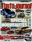 AUTO JOURNAL (L') [No 797] du 25/02/2010 - SPECIAL NOUVEAUTES - DOSSIER ESSAIS / 6 CITADINES MINI CAB - FIAT 500 C - TOYOTA IQ - ALFA MITO - ESSAI BMW 316 D - SCIROCCO R - MEGANE RS