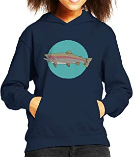 Rainbow Trout Kid's Hooded Sweatshirt