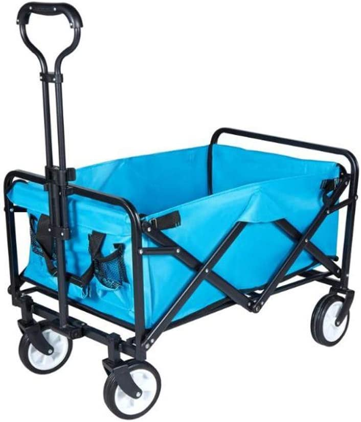 RICA-J Folding Garden Cart Collapsible Camping Heavy Super Minneapolis Mall Special SALE held Wagon Duty