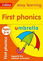 First Phonics: Ages 3-4 (Collins Easy Learning Preschool)