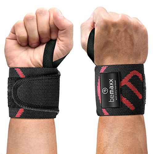 Muñequeras Deportivas Gym Profesionales - 2 Wrist Wraps Straps Resistentes para Levantar...