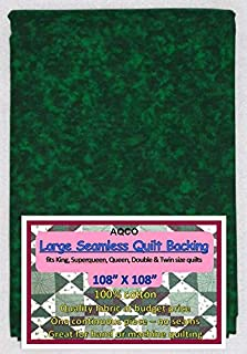 Quilt Backing, Large, Seamless, C44395-605, Forest Green, from AQCO