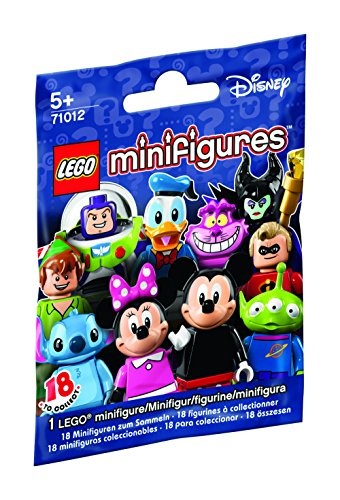Set Completo 18 Diverse Figure PERSONAGGI DISNEY Serie 1 LEGO Mini Figures 71012