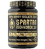 JNutrition Spartan Isohydroox 3.0, WHEY PROTEINE ISOLATE ZERO CARBOIDRATI ZERO ZUCCHERO, Proteine in...