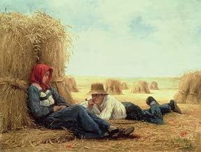kunst für alle Art Print/Poster: Julien Dupre Harvest Time 1878