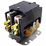 Room Air Conditioner Replacement Parts New Packard C240C 40 AMP 208/240 VAC Double 2-Pole Definite Purpose Contactor HVAC applies to the U.S. only.
