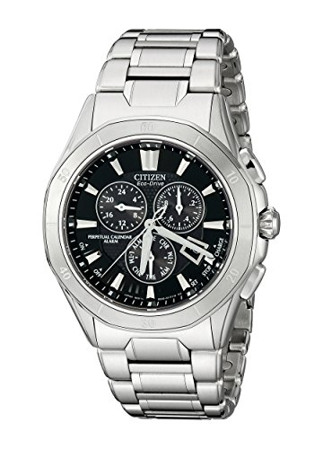 Citizen Men's Eco-Drive Signature Chronograph Watch with Date and Alarm, BL5460-51E