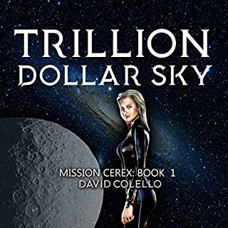 Trillion Dollar Sky audiobook cover art