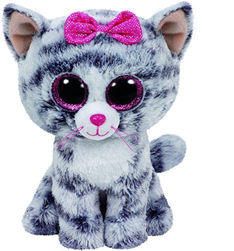 TY Beanie Boo Plush - Kiki the Cat 15cm by Ty Beanies