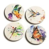 Big Sky Carvers Nature Coasters, Set of 4 by Big Sky Carvers Dean Crouser Collection