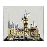 TETAKE Display Case en Acrylic Vitrine Présentoir pour Lego 71043 Harry Potter Château de Hogwarts (Modèle Non Incluse)