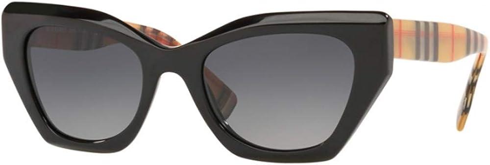 Burberry, occhiali da sole da donna, montatura in acetato, lenti color grigio BE4299 3757T3