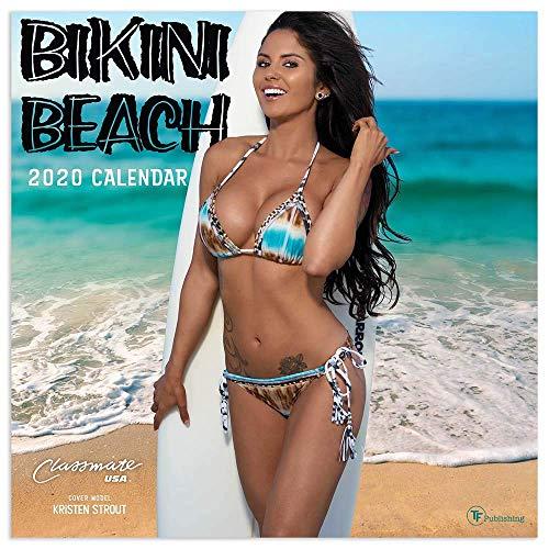 2020 Bikini Beach Wall Calendar
