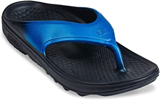 Spenco Men`s Fusion 2 Fade | in Colors Black, Blue, Grey and Red | Kick-On/Kick-Off Sandal