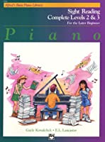 Alfred's Basic Piano Library: Sight-Reading Complete Levels 2 And 3. For ピアノ