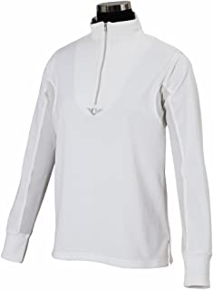 TuffRider Women's Ventilated Technical Long Sleeve Sport Shirt with Mesh