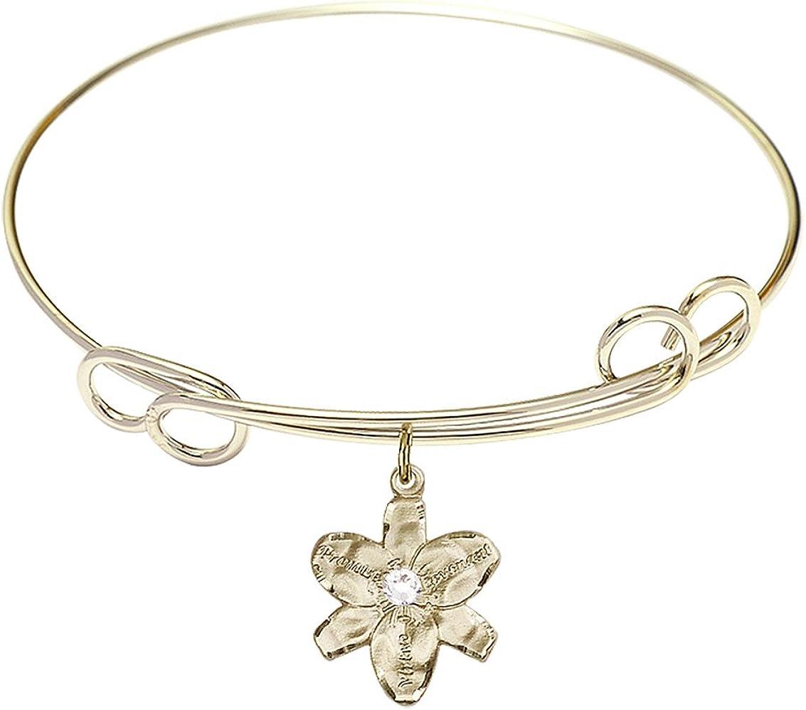DiamondJewelryNY Ranking TOP14 Double Loop Bangle Bracelet discount Cha with Chastity a