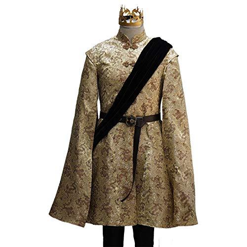 Manfu Game of Thrones Joffrey Baratheon Outfit Cosplay Kostüm Herren M