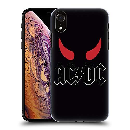 Head Case Designs Offizielle AC/DC ACDC Hörner Logo Harte Rueckseiten Huelle kompatibel mit iPhone XR