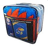 Northwest University of Kansas KU Jayhawks 60x80 inch Royal Plush Raschel Throw Blanket