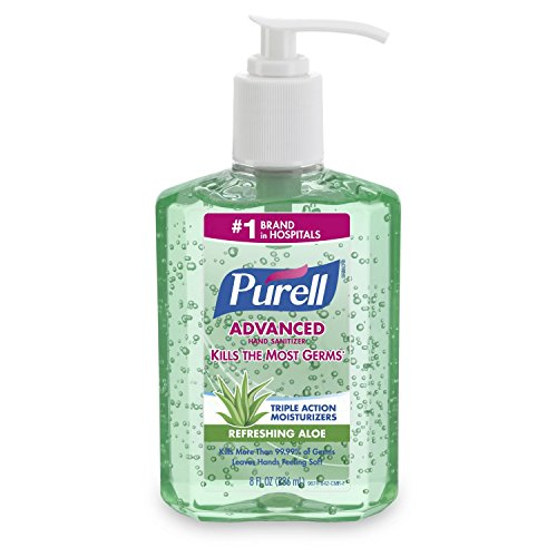 Purell Adv Aloe 8oz Pump (2 Pack)
