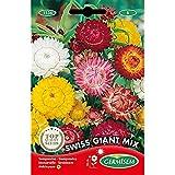 Germisem Swiss Giant Mix Semillas de Flor de Paja 0.75 g, EC1536