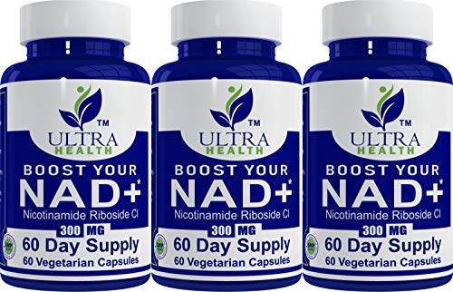 99.5% NR Nicotinamide Riboside, 60-Day Supply, 300mg Vegetarian Capsules, No Additives Just The purest NAD+ Boosting Supplement for The Highest bioavailability. Pair with Niacin, NMN and resveratrol.