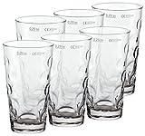 PREMIUM Dubbeglas für Schoppen (6 Stück 0,25l) Schoppenglas zum Genuss von Pfälzer Wein, Schorle...