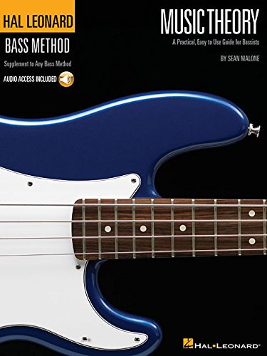 Hal Leonard Bass Method: Music Theory (Bass TAB Book): Noten, Grifftabelle für Bass-Gitarre