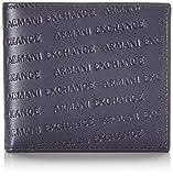 Armani ExchangeBifold W/ Coin PocketUomoPortafogliBlu (Navy/Navy)2 Cmx 115 Cmx 10 Centimeters (B x H x T)