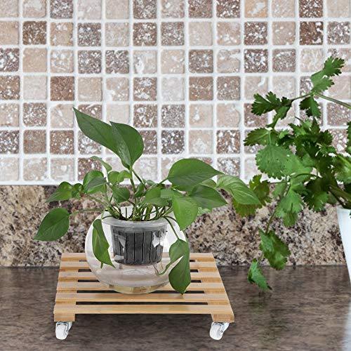 Starkes Blumentopf-Rolltablett, Plant Pot Mover, für Blumen für Laub