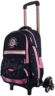 Kids Smart Backpack ,Boys Girls Trolley Suitcase Removable Waterproof Primary Students Daypack Child Outdoor Travelling Ru...