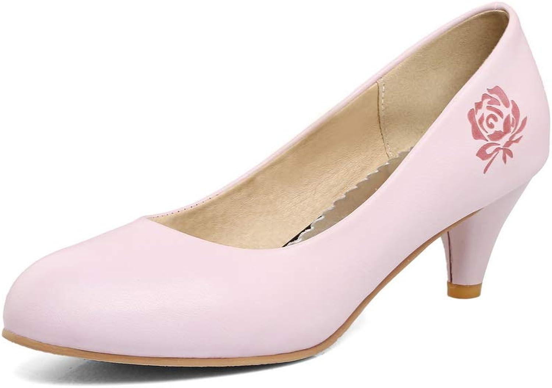 AN Womens Hollow Out Spikes Stilettos Printing Urethane Sandals DGU00548