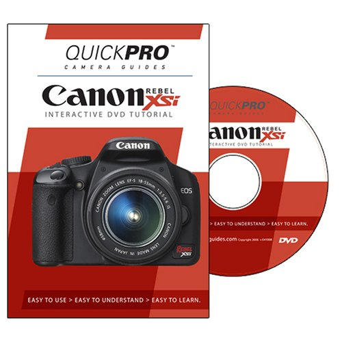 Canon Rebel XSi Instructional DVD by QuickPro Camera Guides