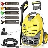 oasser Electric Pressure Washer Car Power Washer 1600W 140bar 420L/H Portable Car Washer