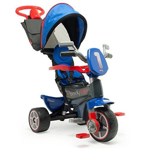 INJUSA Triciclo Body Max, color azul, 21 x 11 x 3 cm (3255)