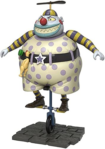 The Nightmare Before Christmas Clown with the Tearaway Face Actionfigur Standard