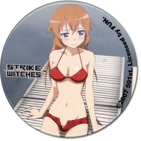 Strike Witches Shirley bouton