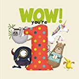 WOW! You're One birthday book