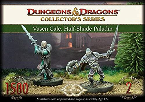 Dungeons & Dragons - Vasen Cale mi-ombre Paladin - GF971019 - Gale Force Nine