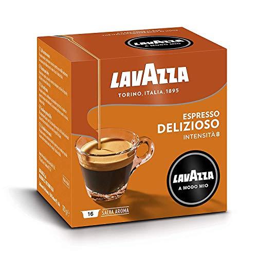 Lavazza 216 Kaffeekapseln Modo Mio Delizioso