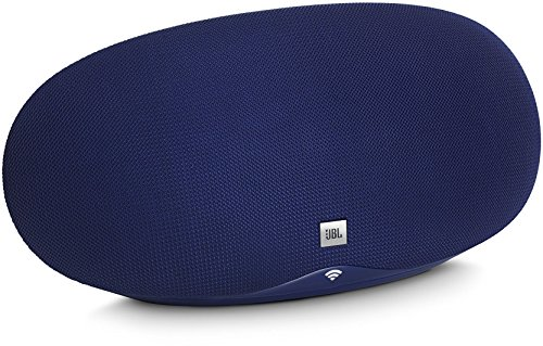 JBL Playlist WLAN-Lautsprecher mit integriertem Chromecast blau