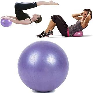 25 cm Yoga Ball Exercise Gymnastic Fitness Pilates Fit ball Balance Exercising Air Pump Anti-Burst Yoga Balls for Workout ...