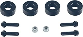 DEWHEL 4 Differential Drop Kit Differential Drop Spacers For 2007-2018 Chevrolet Silverado 1500 4WD and 2007-2018 GMC Sierra 1500 4WD
