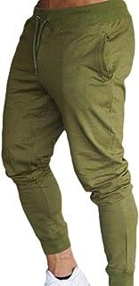 MogogoMen Drawstring Slim Fitted Pockets Relaxed Performance Jogging Pants