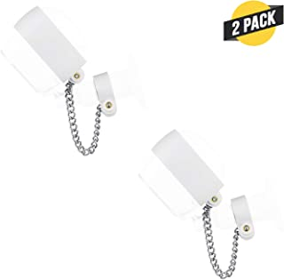 Wasserstein Anti-Theft Security Chain Compatible with Arlo HD - Extra Security for Your Arlo Camera (2-Pack, White)